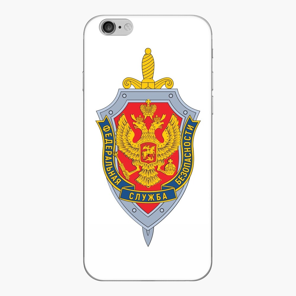 Emblem of the Russian Federal Security Service iPhone Skin