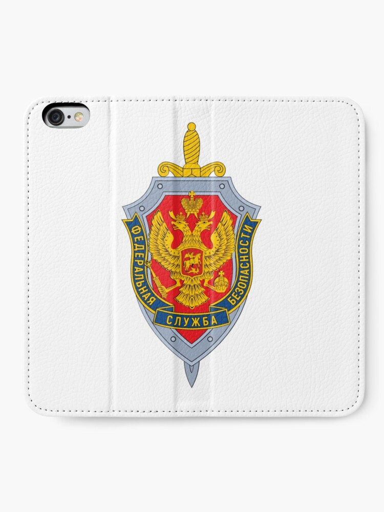 Alternate view of Emblem of the Russian Federal Security Service iPhone Wallet