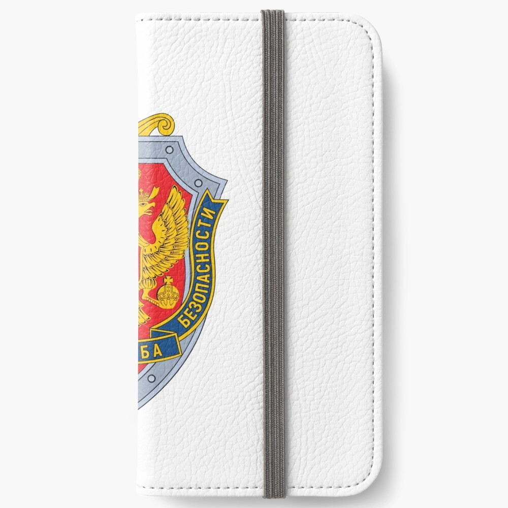Emblem of the Russian Federal Security Service iPhone Wallet