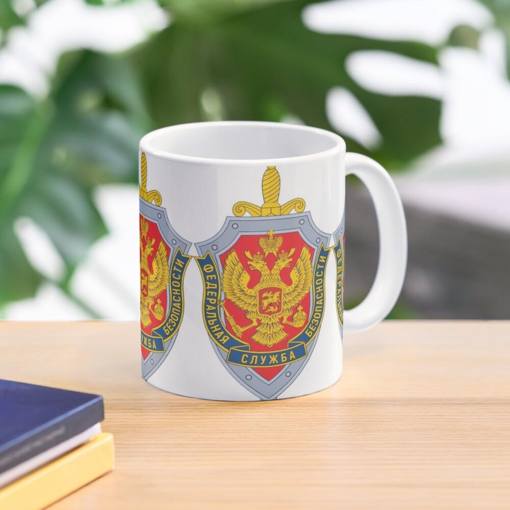 Emblem of the Russian Federal Security Service Mug