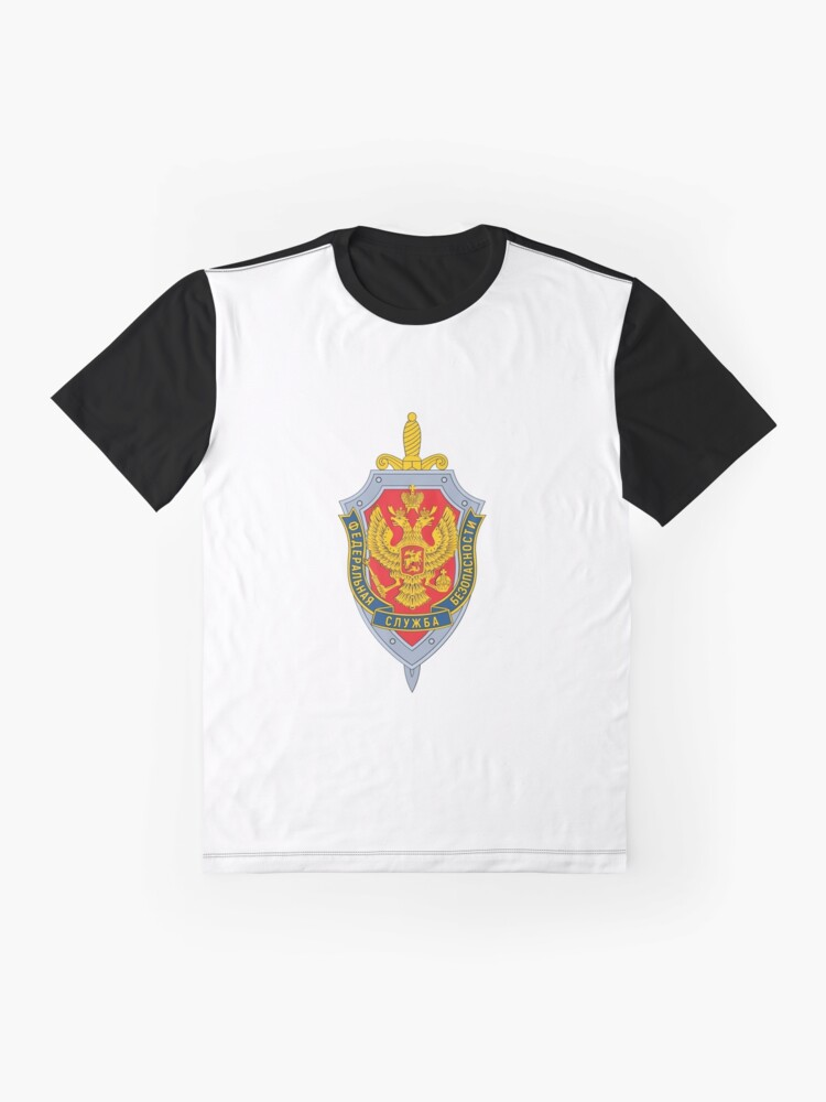 Alternate view of Emblem of the Russian Federal Security Service Graphic T-Shirt