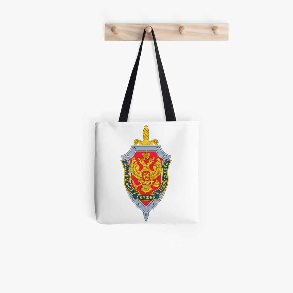 Emblem of the Russian Federal Security Service Tote Bag