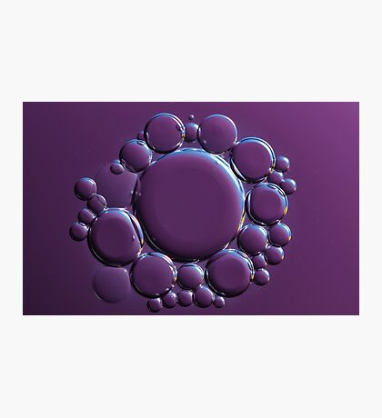 Oil Cells Photographic Print