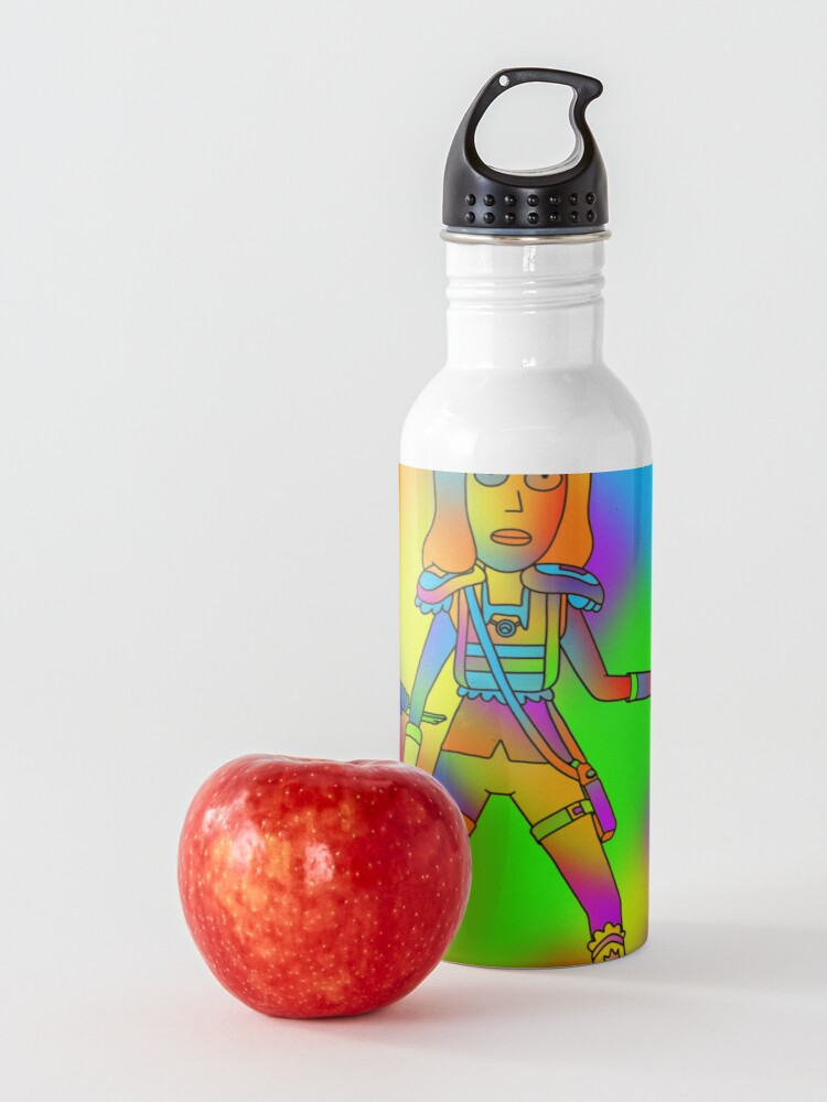 Alternate view of Rick and Morty | We've got this Rainbow Rick Water Bottle