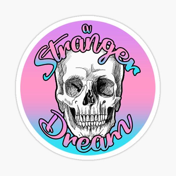 A Stranger Dream Pastel Logo Sticker