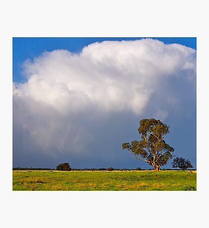Storm clouds over Cardinia, Gippsland, Victoria. Photographic Print