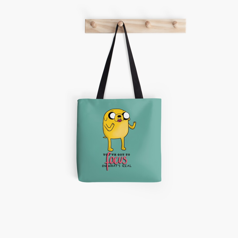 Jake The Dog Quote  Tote Bag