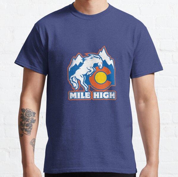 Mile High Bronco Classic T-Shirt
