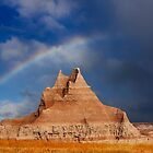 Sunrise over Badlands Castle Trail by Alex Preiss