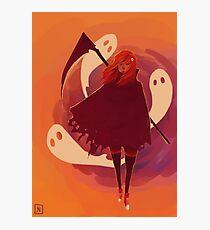 Reaper Girl in the Desert Photographic Print