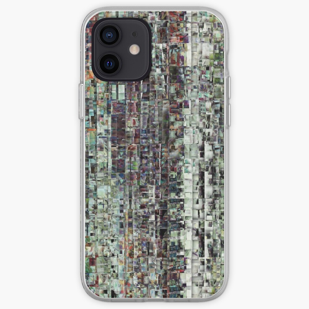 Abstract Chaotic Pattern iPhone Case & Cover