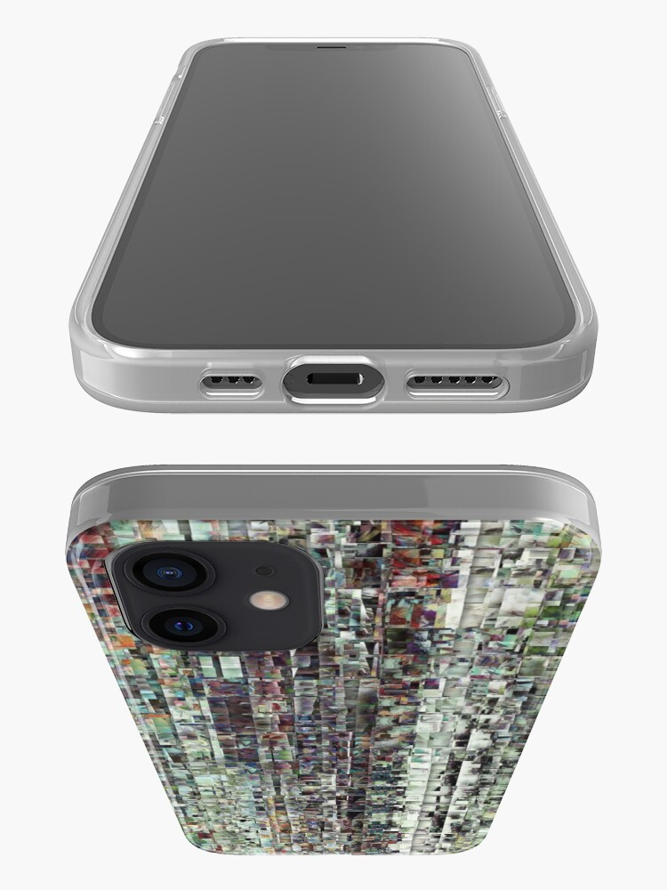 Alternate view of Abstract Chaotic Pattern iPhone Case & Cover