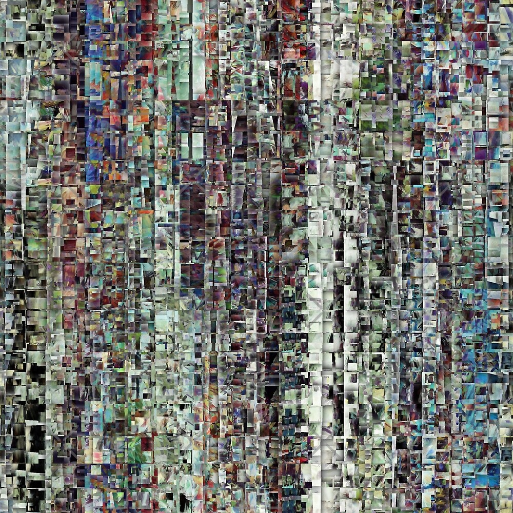 Abstract Chaotic Pattern by Phil Perkins