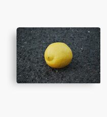 Bitter Lemon Canvas Print