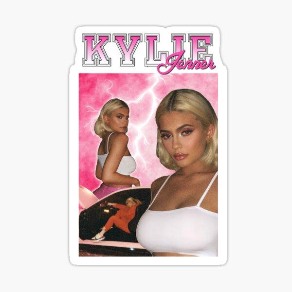 Kylie Jenner 90's Graphic Sticker