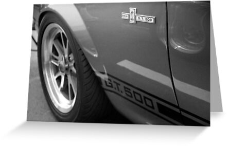 """Mustang GT 500 """"Eleanor"""" by AnalogSoulPhoto"""