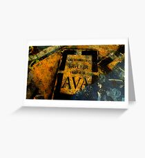 ~Vote for Ava~ Greeting Card