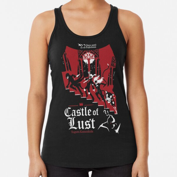 Castle of Lust Racerback Tank Top