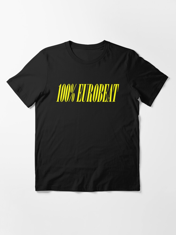 Alternate view of 100% EUROBEAT Essential T-Shirt