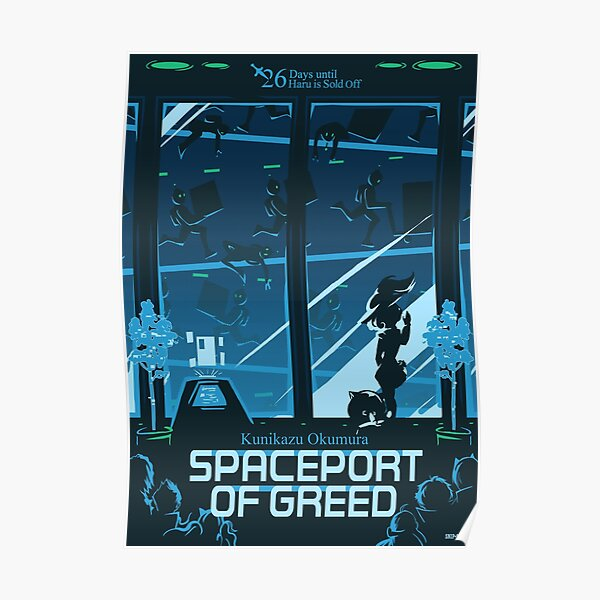 Spaceport of Greed Poster