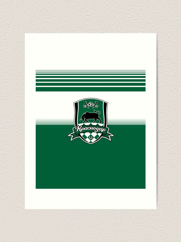 Krasnodar Sport Fans Ultras Hooligans Art Print By Thestarrysky Redbubble