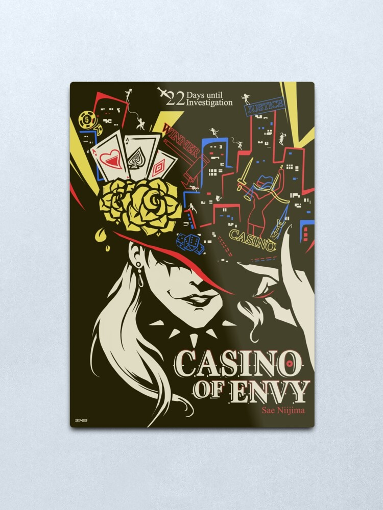 Alternate view of Casino of Envy Metal Print