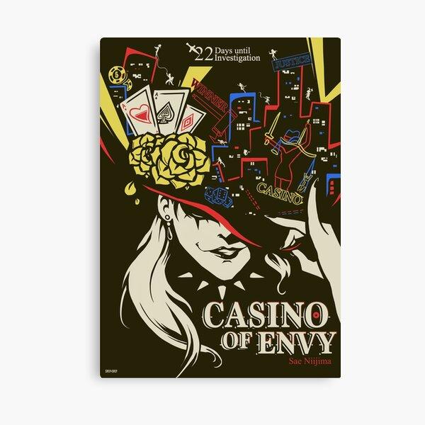 Casino of Envy Canvas Print