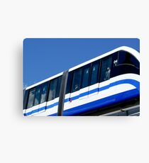 train to Moscow Canvas Print