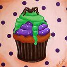 Chocolate Spider by Cat-Von-Art