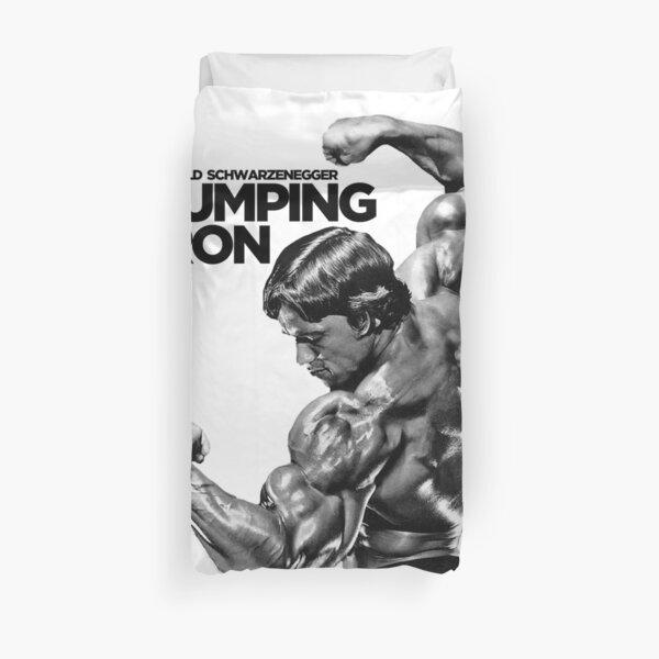 Arnold Schwarzenegger Classic Pumping Iron Duvet Cover