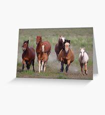 Coming At You Greeting Card