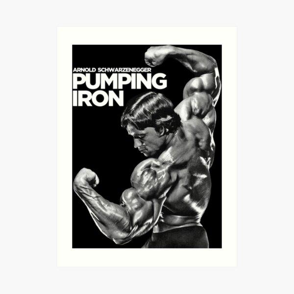 Arnold Schwarzenegger Classic Pumping Iron Art Print