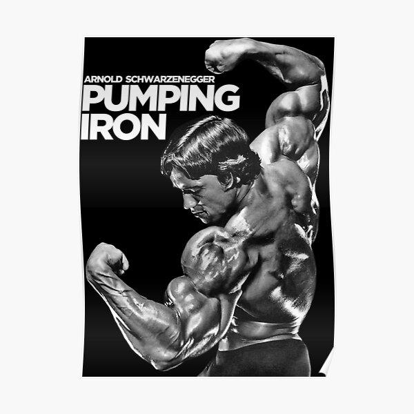 Arnold Schwarzenegger Classic Pumping Iron Poster