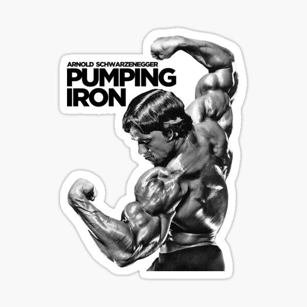 Arnold Schwarzenegger Classic Pumping Iron Sticker