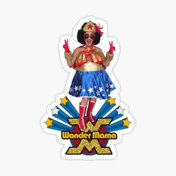 The Fabulous Wonder Mama Sticker
