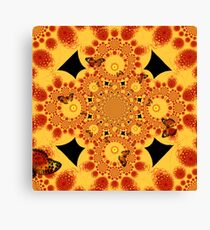 Butterfly Tangent Canvas Print
