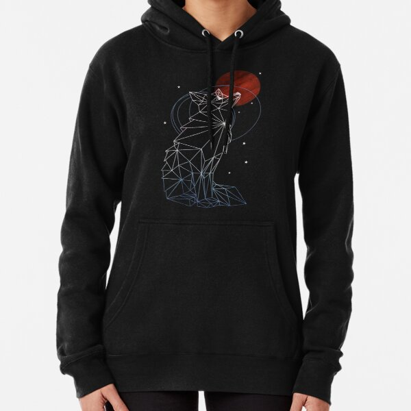 Fox in the Stars Pullover Hoodie