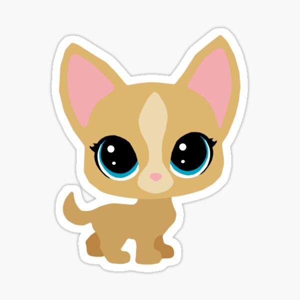 LPS Littlest Pet Shop Chihuahua Sticker