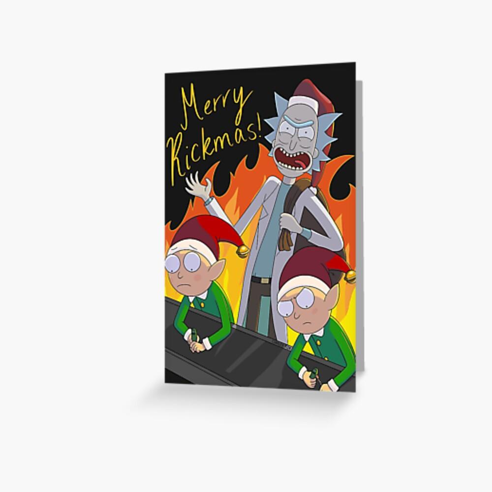 Merry Rickmas! Greeting Card