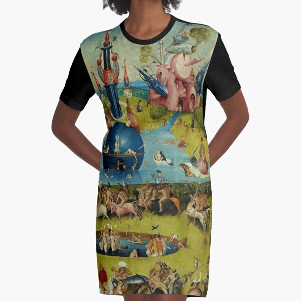 Garden of Earthly Delights (Ecclesia's Paradise) 3 Graphic T-Shirt Dress