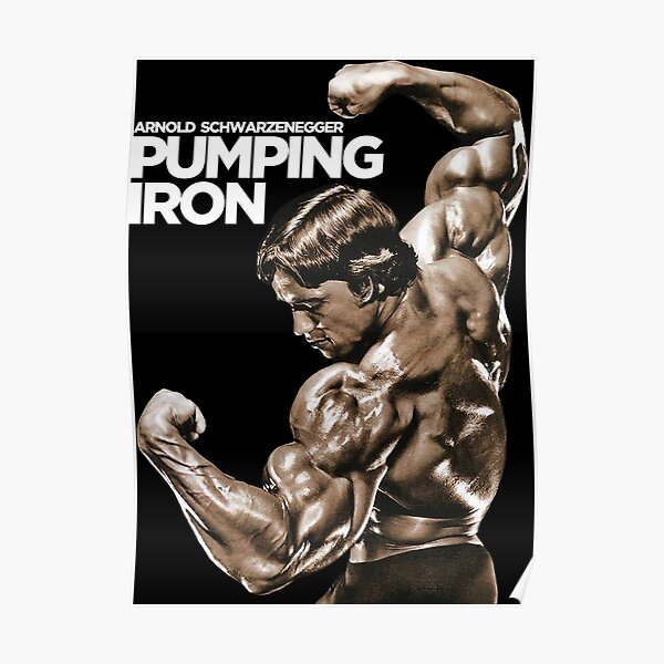 Fer à repasser classique Arnold Schwarzenegger Poster
