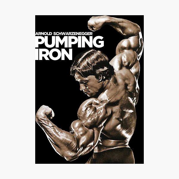 Arnold Schwarzenegger Classic Pumping Iron Photographic Print