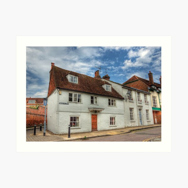 Little Minster Street- Winchester Art Print