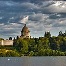State Capitol Dome, Olympia, Washington State by nwexposure