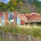 Dennington's Cottage, Hill End, NSW, Australia  by Adrian Paul