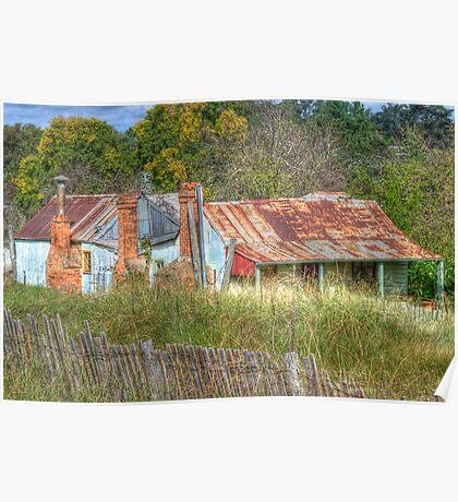Dennington's Cottage, Hill End, NSW, Australia  Poster