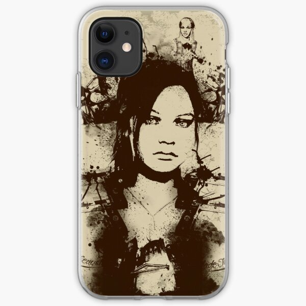 Claire Redfield iPhone Soft Case