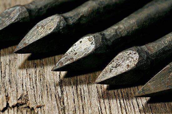 Bodkin Arrowheads by Steve Churchill