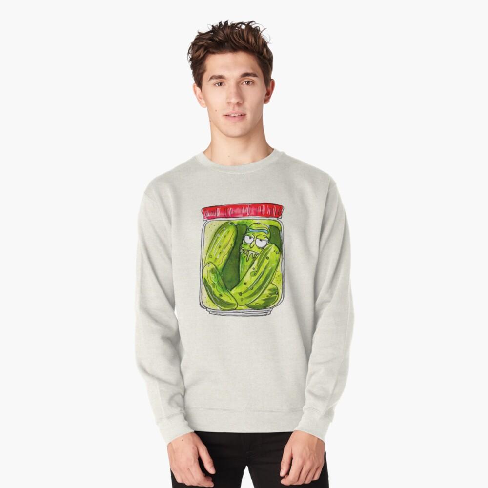 DILL PICKLED RICK  Pullover Sweatshirt