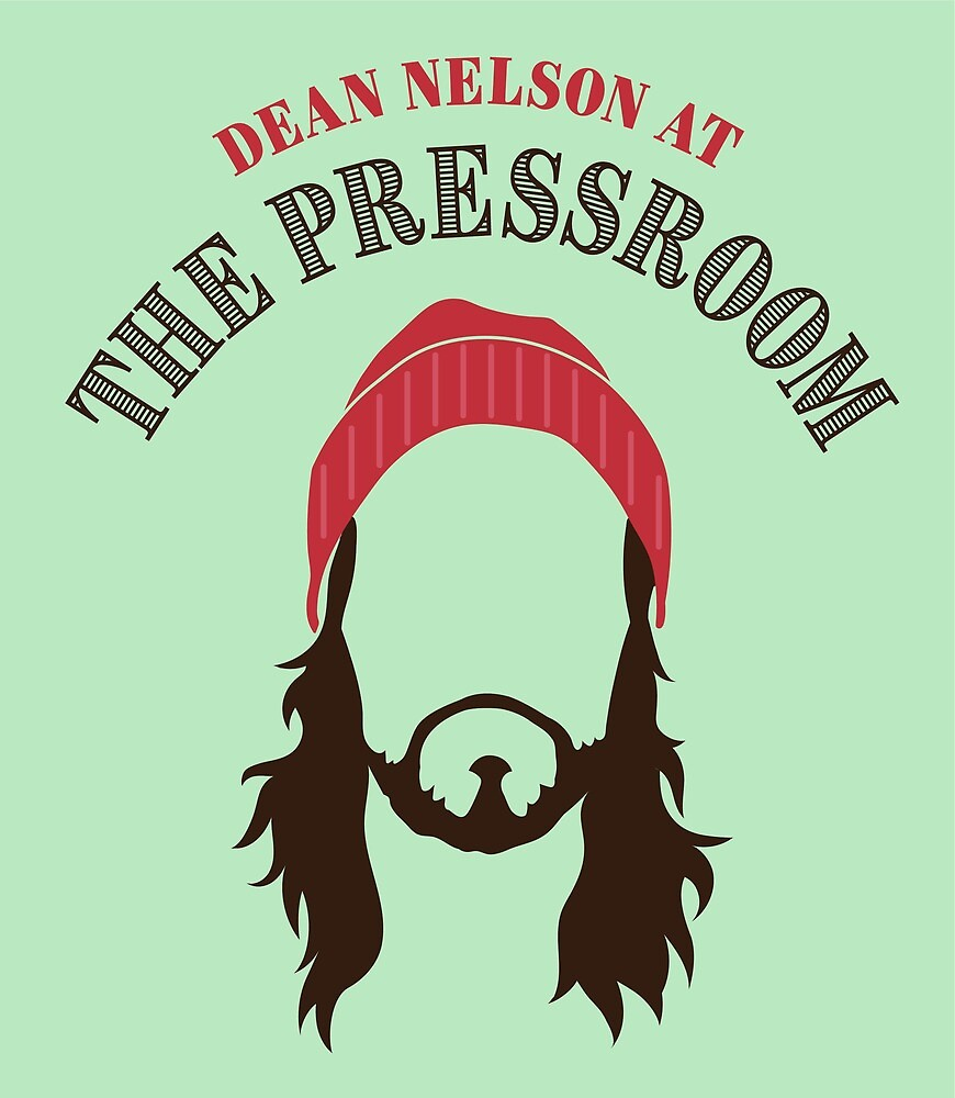 Dean Nelson at The Pressroom (Green Only) by Dean Nelson